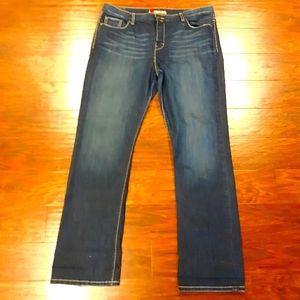 BKE Drew Boot blue jeans